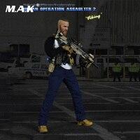 1/6 Schaal Volledige Set Figuur 1:6 Militaire 26016 PMC Urban Bediening Assaulter 2 Viking Collection Action Figure voor Fans Gift