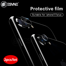 ESVNE 2pcs/Lot HD Glass For Apple iphone 7 Back Camera Lens Screen Protector Tempered Film iPhone Plus