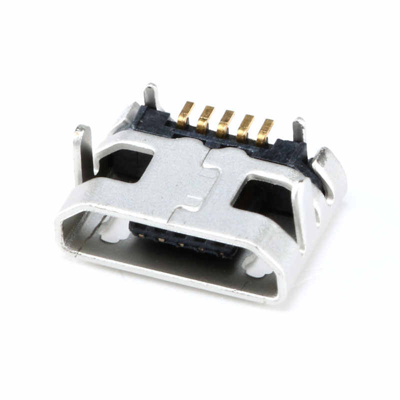 100 Chiếc Micro USB 5P Ổ Cắm Cổng Kết Nối Sân 7.2 Mm Nữ SMD DIP Kết Nối Cho Di Động Mini USB Sửa Chữa di Động Máy Tính Bảng ĐUÔI CẮM