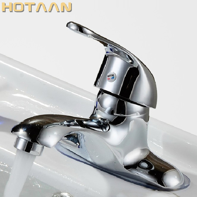 Free Shipping Deck Mounted Two Hole Bathroom Basin Mixer Faucet Water