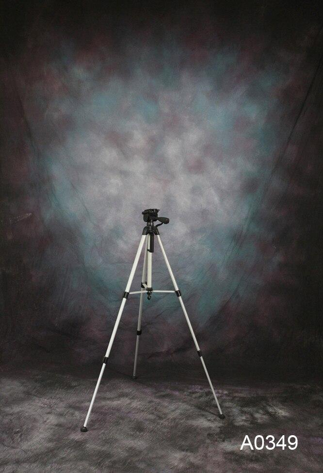 10 x10ft/3*3 m peint à la main fantaisie photo toile de fond A0349 vestido de noiva, fond de mousseline, accessoires de studio photographie