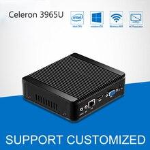 Mini PC 4K Windows 10 Mini Computer Celeron 3965U DDR4 RAM Office Computer Desktop Barebone HTPC HD Graphics 610 HDMI TV BOX