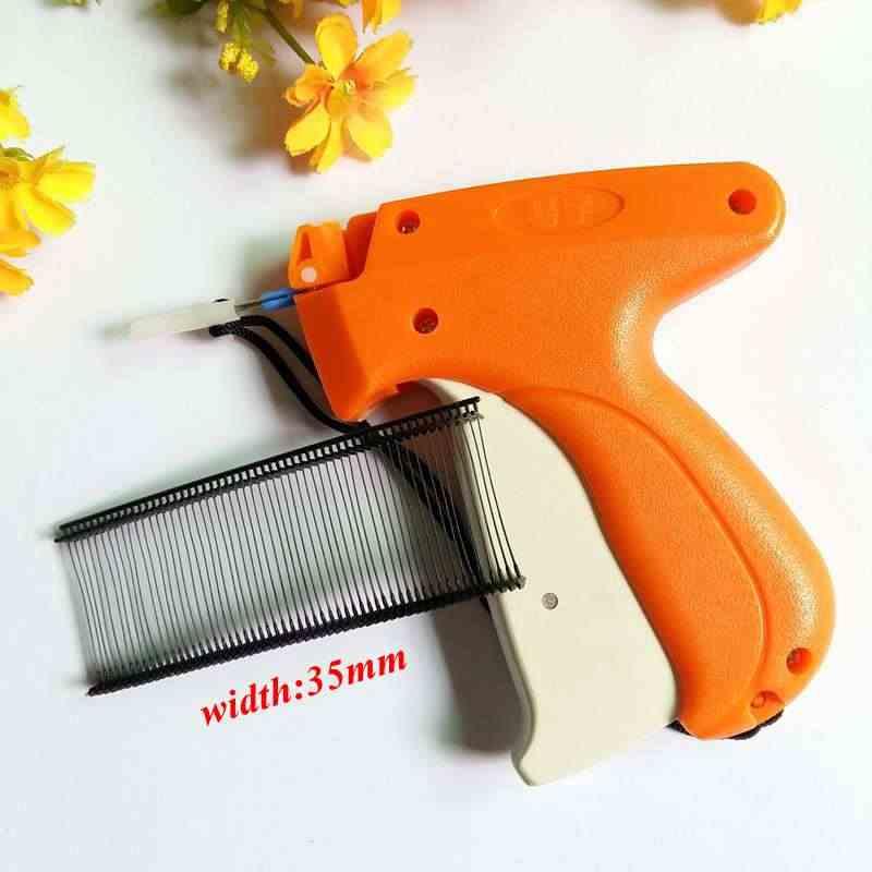 cf7995810db1 1set Tagging Gun +1000pcs or 5000 pcs 35mm black Barbs, Clothing Garment  Price Brand Label Tagging Price Clothes Tag Gun