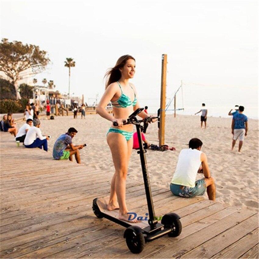 Daibot Scooters électriques adultes 3 roues ES conseil auto équilibrage Scooters 450W moteur Brushless enfants pliable planche à roulettes électrique