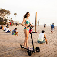 Daibot Electric Scooters Adults 3 Wheels ES Board Self Balancing Scooters 450W Brushless Motor Kids Foldable Electric Skateboard