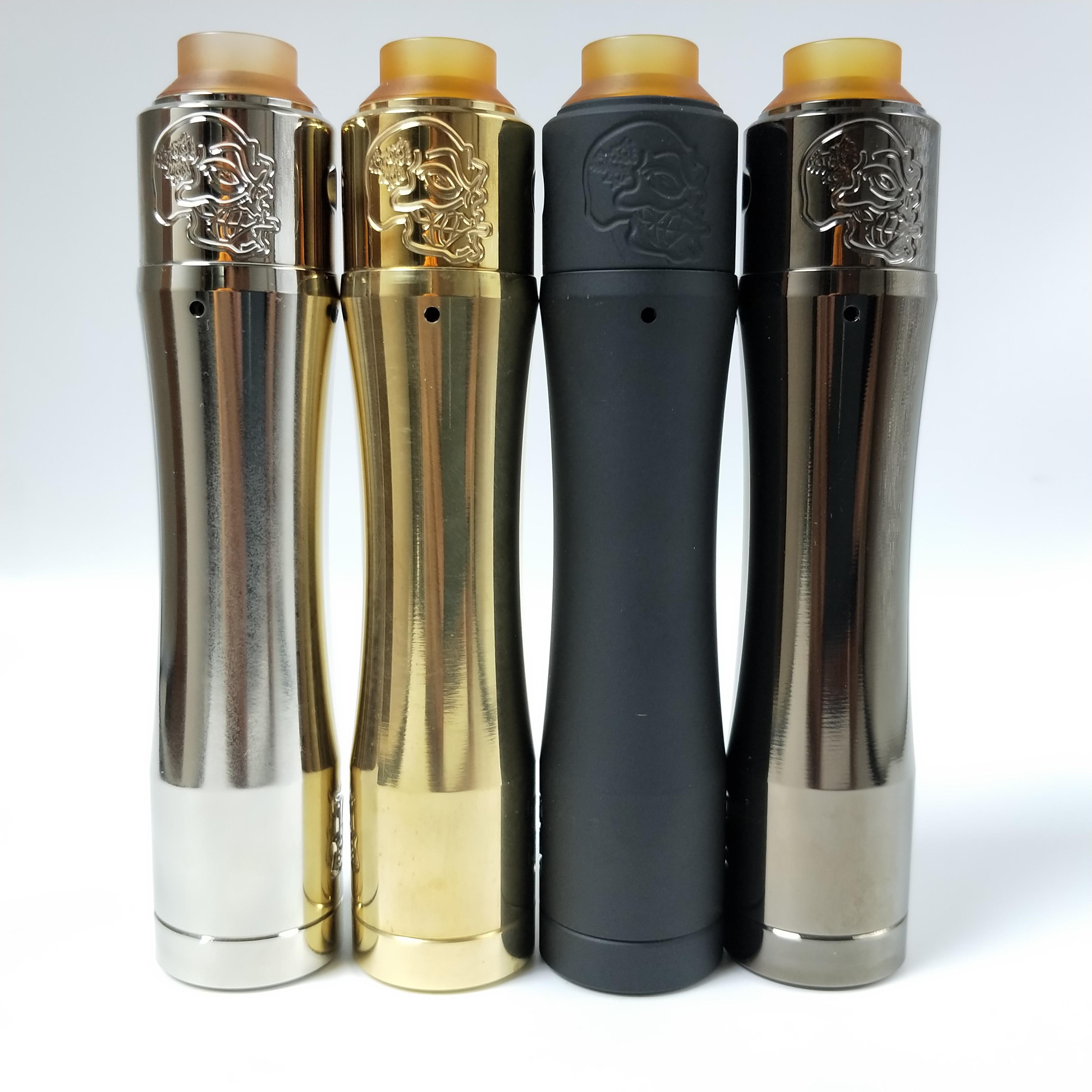 Le kit Mod Swerve 28mm 510 fil fit 21700 20700 18650 batterie vs claquement pièce pharaon mech vape mod fit taifun gtr rta