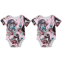 SNewborn Kids Baby Girl Clothing Romper Jumpsuit Playsuit Cute Sleeveless Clothes Outfits Summer Girls 3-18M summer girls kids clothing jumpsuits rompers princess party lace floral romper playsuit jumpsuit girl clothes 2 7y