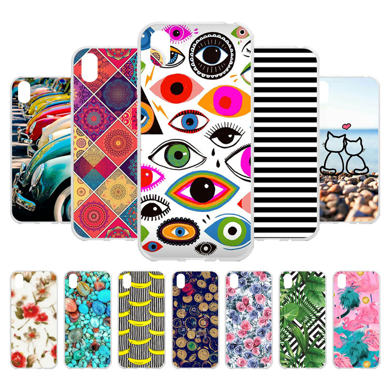 3D DIY Honor 8S Case For Huawei Silicone TPU Cover Phone On KSE-LX9 8 S Honor8S Soft