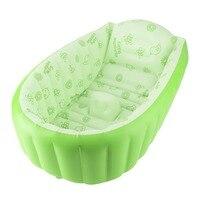 Baby Zwembad Opblaasbare Vierkante Bad Groen/Blauw PVC Voor 3-6 Jaar Oude Kind Verdikking Bad Kinderen Zwembad