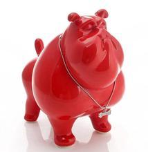 ceramic American Bulldog dog Piggy Bank home decor crafts room decorations kawaii ornament porcelain animal figurines