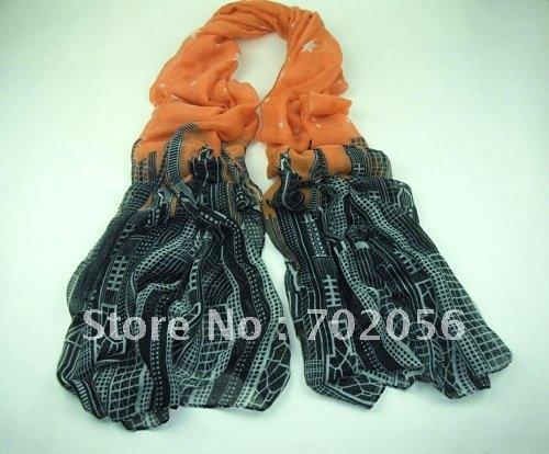 Building design   Scarf   Neckscarf   SCARF     wrap   180*110cm 10pc/lot #2132