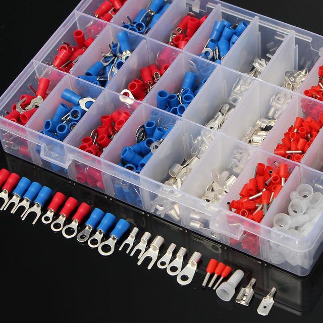 1000 Teile/satz Elektrischen Draht Stecker Insulated Crimp Terminals ...