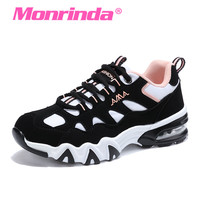 Monrinda Sports Woman Sneakers Women Air Cushion Sport Shoes Men Breathable Outdoor jogging Shoes Footwear Running Shoes A52