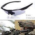 ESS TR90 Frame Sport Men Goggle Sunglasses 5Lens Men Brand Designer Windy Sun Glasses for Women oculos de sol oculos
