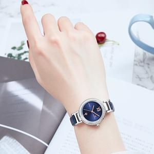 Image 3 - 새로운 naviforce 여성 패션 쿼츠 시계 여성 캐주얼 방수 시계 손목 시계 럭셔리 브랜드 숙녀 시계 reloj mujer 2019