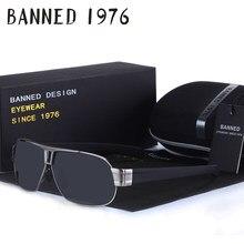 BANIDO 2018 qualidade super Cool moda Óculos Polarizados condução Óculos de  Sol dos homens para o sexo masculino óculos óculos c. f1d90ab8e1