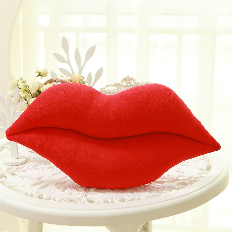 Creative Sexy Red Lips Sofa Pillow Cushions Gift Birthday Gift Lovely  Office Nap Pillow Home Decoration Plush Toys In Cushion From Home U0026 Garden  On ...