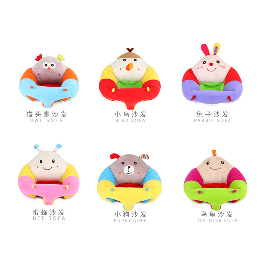 Strange Babelemi Cartoon Animals Infant Baby Kids Sitting Support Play Plush Toys Sofa Chair Seat Nest Toddler Area Rugs Carpets For Kids Room From Begonior Beatyapartments Chair Design Images Beatyapartmentscom