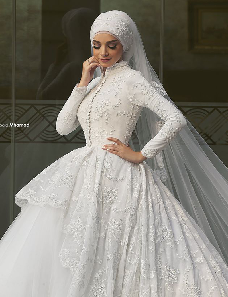 aliexpress : buy 2015 real gorgeous ball gown luxury muslim