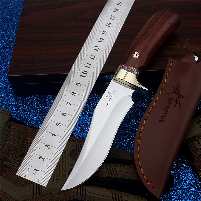 2017 New Free Shipping Top Fashion Outdoor Straight Hunting Knife Self-defense Wilderness Survival Camping High Hardness knives 2017 new free shipping fixed tactical outdoor army knives self defense high hardness survival camping hunting knife black gold
