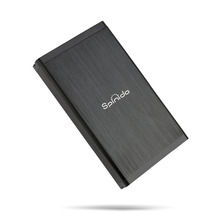Spinido ssd drive of flash cards Hard Drive Enclosure USB 3.0/2.0 to 3.5 Inch UASP SATA External Aluminum Mobile Device