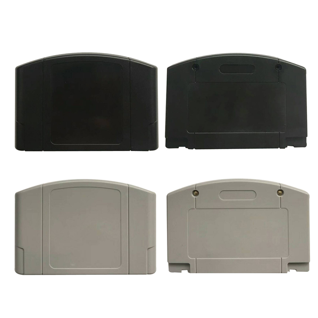 Replacement  Game Card Shell for Nintendo N64 Game Cartridge Cover Plastic Case