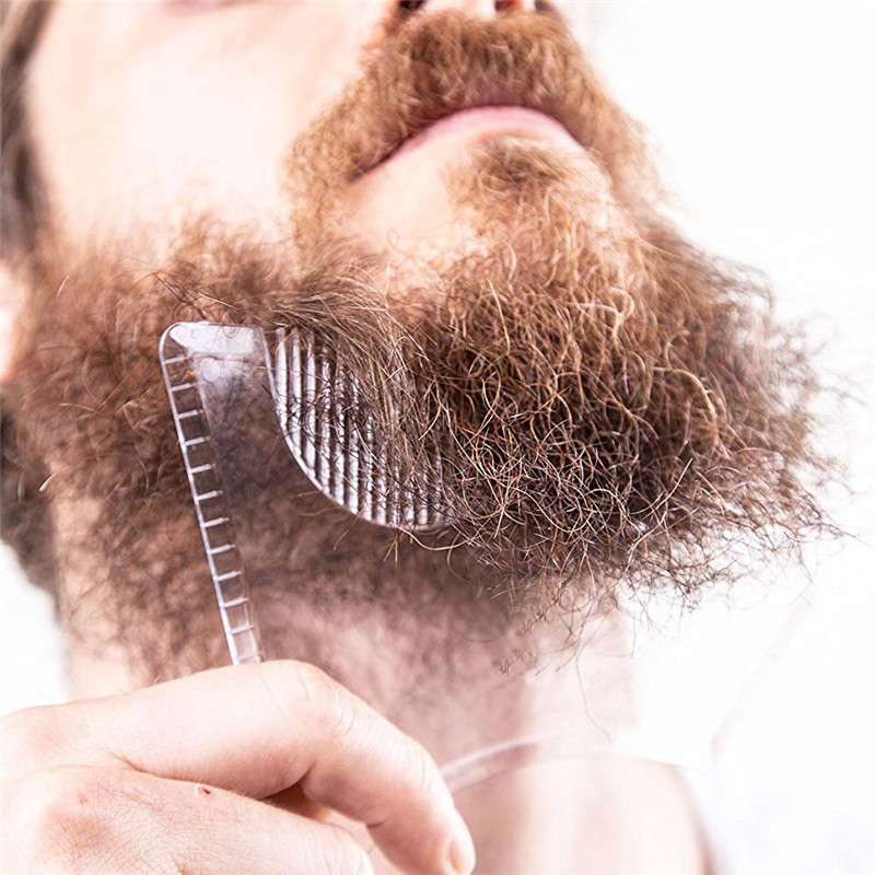 Beard Shaping Innovative Tool With Comb 9