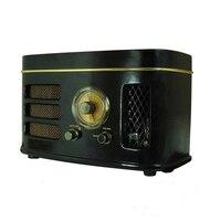 Трубка Гибридный высокочувствительное радио 6N2 предусилитель 12 Вт мощность AM/FM дюймов 4 дюймов динамик Настольный деревянный шкаф Bluetooth дин