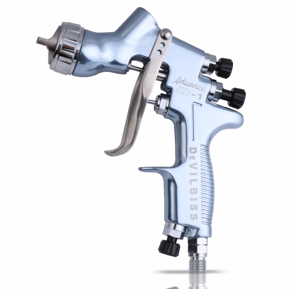 Spray Gun HD-1 HVLP Gravity Feed Car Paint Gun for All Auto Paint ,Topcoat and Touch-Up with 600 cc Plastic Paint Cup hvlp spray gun auto car paint spot repair professional spraye tools spray gun lvlp