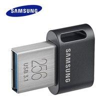 SAMSUNG USB 3.1 Flash Drive FIT Plus 256GB Pendrive 32GB 64GB 128GB Metal Mini pen drive memory stick storage Device U DISK