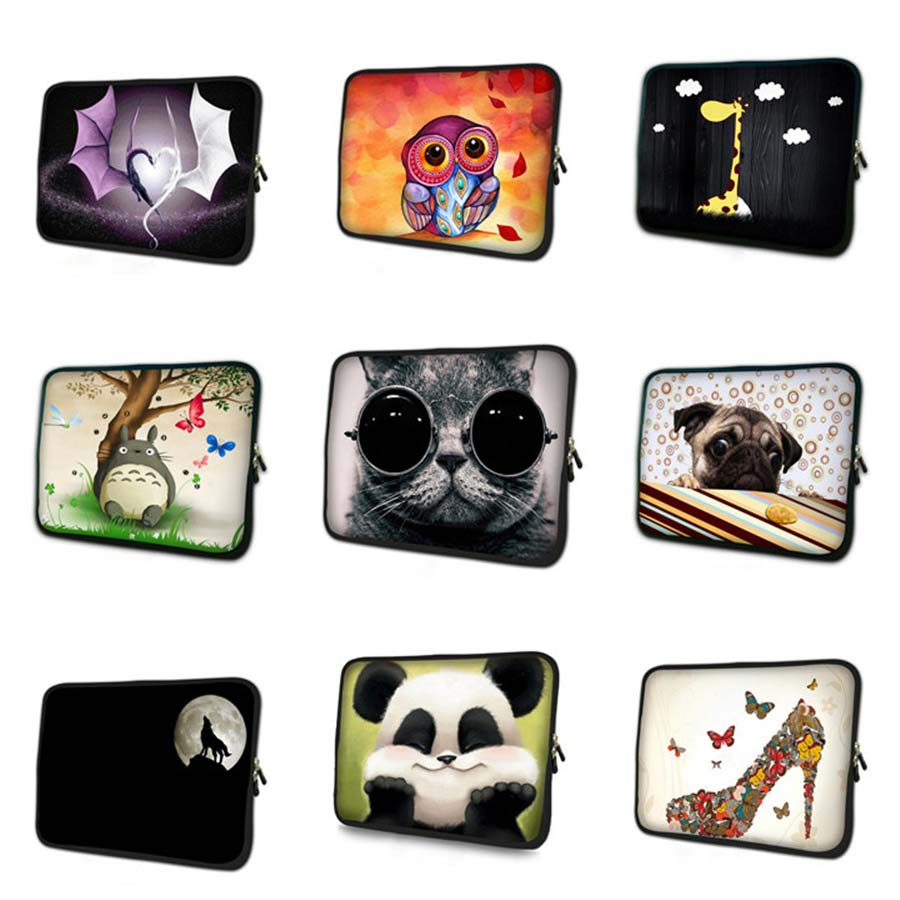 Zipper Soft 7 10 12 13 14 15 17 liner Sleeve Laptop Bag Ultrabook Notebook Case tablet cover for MacBook Pro Air Retina NS-hot4