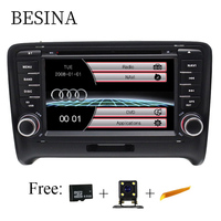 Besina Two Din 7 Inch Car DVD Player For AUDI TT 2006 2012 Canbus Radio GPS