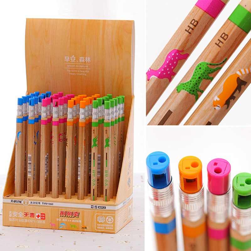 1Pc Mechanical Pencil 2.0 Mm Lead Refill Pencil Automatic Pencil Colors Random Pencils For Writing