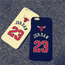 Chicago bulls jordan tampa do caso para o iphone 5s 5 6 6 s 6 Mais o Esporte de Basquete Rígido PC Voltar Protetora Caso Do Telefone Móvel