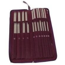 Набор спиц и крючков для вязания (104 шт., 20 размеров)