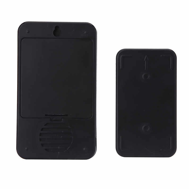 CACAZI Smart Wireless Doorbell DC แบตเตอรี่กันน้ำไฟ led หน้าแรกไร้สายโทร bell 48 CHime 6 ปริมาณแหวน