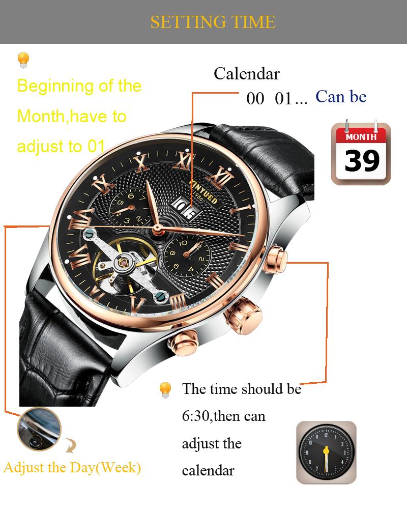HTB123lcQpXXXXbbXXXXq6xXFXXXI - KINYUED Skeleton Watch for Men