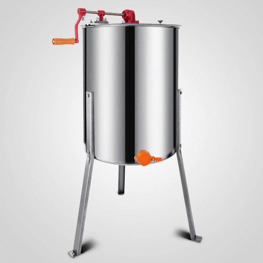VEVOR-extracteur à miel manuel à 3 cadres en acier inoxydable, neuf