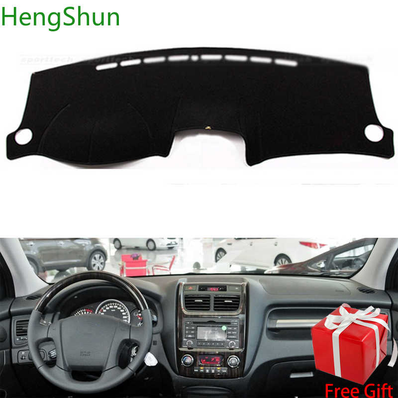 For Kia Sportage 2007 2008 2009 2010 2011 2012-2016 Car Styling Dash Mat Dashmat Dashboard Sticker Cover Dash Board Cover Carpet