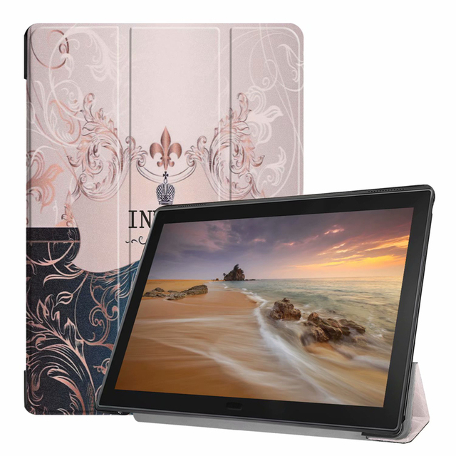 new arrivals f584b 47d37 US $12.38 |Ultra Slim Book Flip Painted PU Leather Case for Lenovo Tab E10  TB X104 10.1 inch Tablet Sleep Wake-in Tablets & e-Books Case from Computer  ...