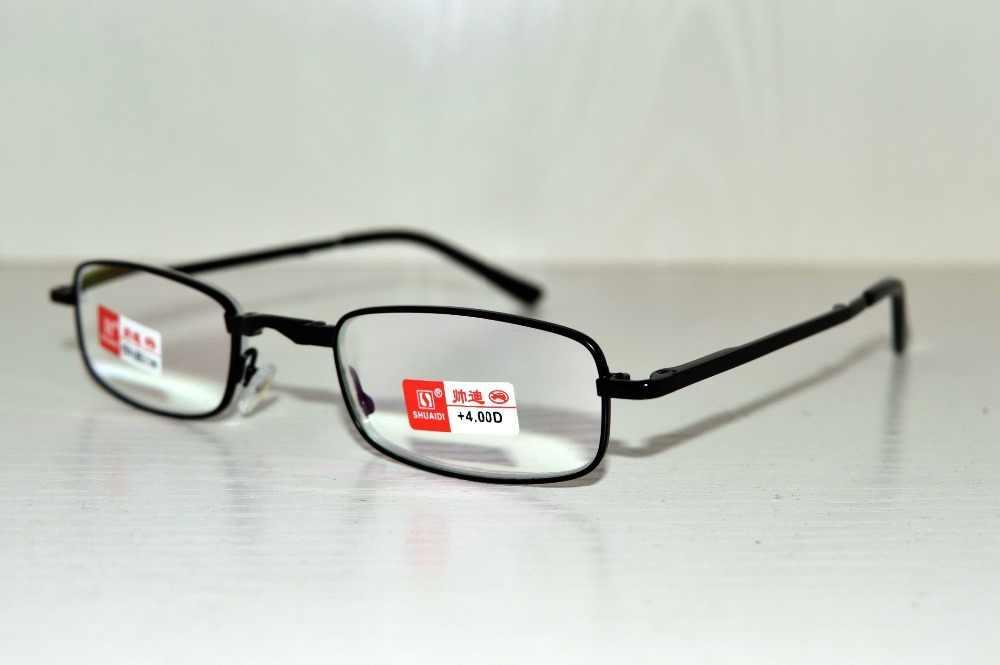 حزام حقيبة PU سهل الجودة قابل للطي لباس نبيل مقاوم للانعكاس مطلي نظارات القراءة + 1.0 + 1.5 + 2.0 + 2.5 + 3.0 + 3.5 + 4.0 +