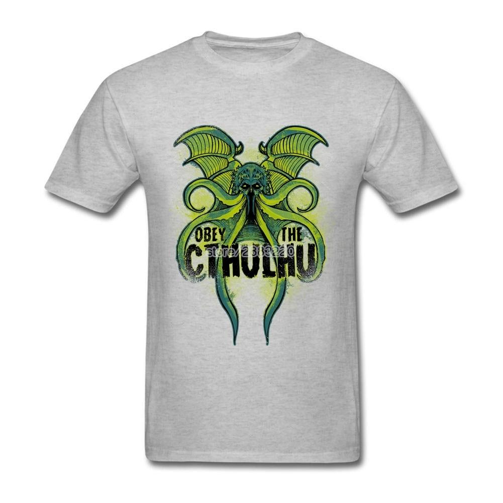 Shirt design octopus - Men S The Cthulhu Monster 3xl Tee Shirt Design Octopus Short Sleeve Tshirts T Shirt