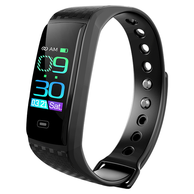 CK17S Smart Fitness Bracelet Waterproof Smart Band Blood Pressure Heart Rate Monitor Electronic Health Wristband PK Mi Band 3