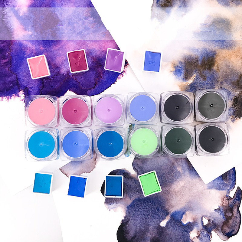 New Watercolor Paint New Color Special Layered Precipitation Master 3ml Wet Pack Free Shipping