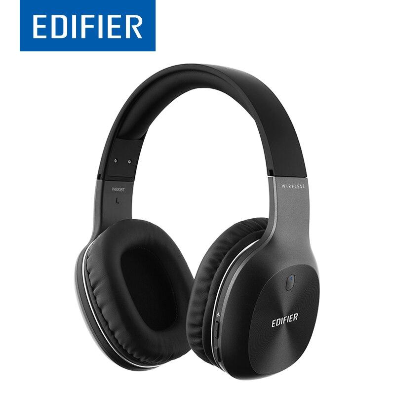 EDIFIER W800BT Bluetooth Kopfhörer Drahtlose Über-Ohr Noise Isolation HIFI stereo Bluetooth 4,0 Headset Mit Mic Für Telefon Tablet