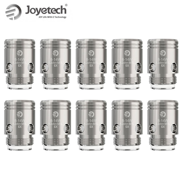Оригинальная Головка Катушки Joyetech EX 0,5 Ом/1,2 Ом для превышения D22 D19, испаритель с емкостью Exceed Air plus, электронная сигарета, катушка для вейпа
