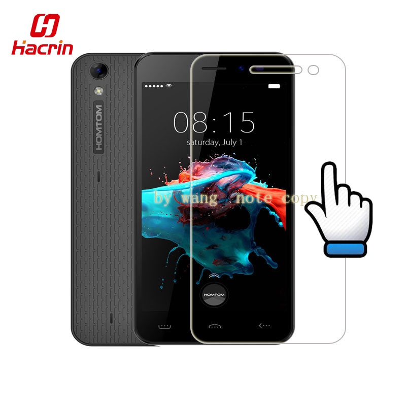 hacrin Homtom HT16 Tempered Glass 5.0inch 9H 2.5D Scratch Proof Premium Screen Protector Film For Homtom HT16 Pro mobile phone