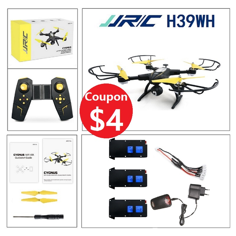 JJRC H39WH Wifi FPV 720P Camera Foldable Altituded Hold Drone 2.4G 4CH Beauty mode RC Quadcopter Better than VISUO XS809HW jjrc h39wh h39 foldable rc quadcopter with 720p wifi hd camera altitude hold headless mode 3d flip app control rc drone