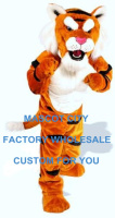 Power Cat Tiger Mascot Costume Adult Size Wild Animal Theme Carnival Party Cosply Mascotte Mascota Outfit Suit Kit Fit SW1057