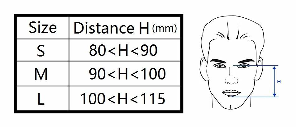 Full Face mask fro CPAP APAP BPAP respirator (9)
